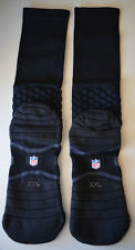 Nike Oakland Raiders NFL Football Game Day / Team Issued Crew Socks Sz. XXL
