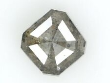 Natural Loose Diamond Grey Color Radiant I2 Clarity 5.60 MM 0.97 Ct KR723