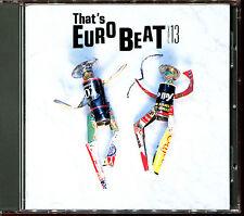 THAT'S EUROBEAT VOLUME 13 - MAXI VERSIONS ITALO JAPAN CD COMPILATION [2421]