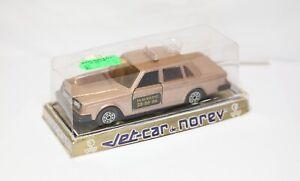 Norev 853 Volvo Taxi Radio In Its Original Box - Near Mint Vintage Rare