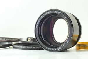 【RARE!! Near Mint】ISCO WIDE-SCREEN 2000 1.5x Anamorphic Lens From Japan