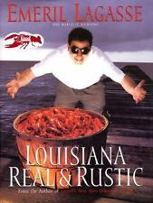 Louisiana Real and Rustic by Marcelle Bienvenu and Emeril Lagasse (1996, Hardco…
