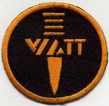 "3"" GI Joe Action Force Embroidered Patch - WATT - Weltraum Anti-Terror"