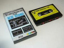 MSX ~ The Ice King by CDS Software Ltd ~ SCC