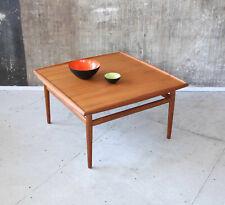 60er Grete Jalk Teak Couchtisch Glostrup Mid-Century 60s Coffee Table Vintage