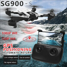 SG900-S Foldable Quadcopter 2.4GHz 720P HD Camera WIFI FPV GPS Fixed Point Drone
