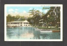 POSTCARD:  PAVILION AT FLORIDA'S FAMOUS SILVER SPRINGS ATTRACTION NEAR OCALA