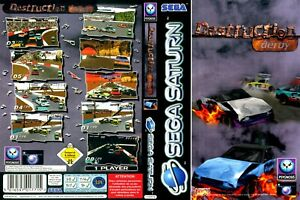 -Destruction Derby Replacement Game Case Box + Cover Art Only