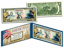TITANIC RMS SHIP Americana Genuine Legal Tender US $2 Bill Officially Licensed
