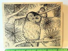 House Mouse LOVIN TOUCH stamp Stampa Rosa Owl mouse friends Pine Tree Amanda
