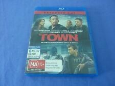 The Town Blu-Ray+ Dvd Ben Affleck Rebecca Hall Jon Hamm Free Postage