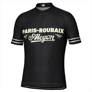 Paris Roubaix Alcyon Cycling Jersey MTB Cycling Jersey  Short Sleeve