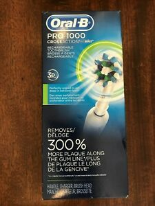 Oral-B Pro 1000 3d Cross Action Rechargeable Toothbrush