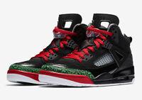 Nike Jordan Spizike Mens Black/Red/Green Basketball Shoe Size US 11/EUR 45/cm 29