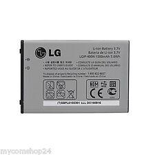 Original LG lgip - 400n Battery batería 3.7v 1500mah 5.6wh para gw800 gw820 gw880 p500