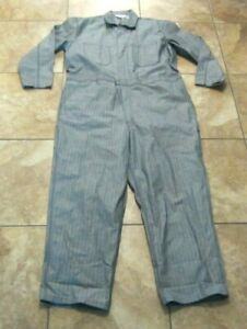 Walls Master Made Mens 2X Large Tall Coveralls Workwear Mechanic Jumpsuit