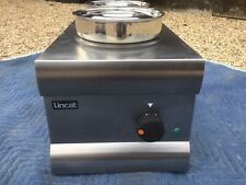More details for lincat bain marie 2 pot dry heat bs3-a004. good used working condition.