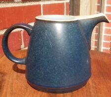 Denby Langley BLUE JETTY Creamer Jug Cream Pitcher England Plus Sugar Bowl Lid