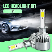 H1 160W 16000LM LED Headlight Kit Bulbs Lamps 6500K Bright White COB Philips