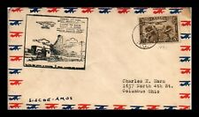 DR JIM STAMPS SISCOE AMOS AIRMAIL FIRST FLIGHT CANADA COVER
