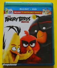 The Angry Birds Movie (Blu-ray/DVD, 2016) - NO DIGITAL CODE - Like New
