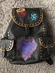 Disney Store Descendants 3 Black Backpack