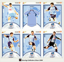 2009-10 Select A League Soccer Cards Base Team Set Sydney FC (12)