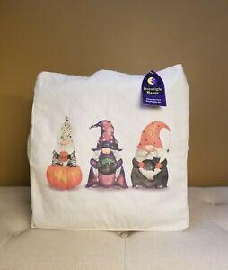 Halloween Gnome Reusable Canvas Tote Bag NEW