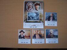 Nevis 2005,Battle Of Trafalgar,U/M Set Of 4,Plus M/Sheet,Cat £12.50,Excellent.