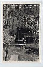 WATER WHEEL, LERRY TWEED MILLS, TALYBONT: Cardiganshire postcard (C21317)