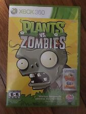 Plants vs. Zombies (Microsoft Xbox 360, 2010) USED