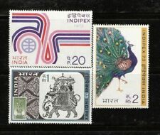"INDIA : INTERNATIONAL  PHILATELIC  EXHIBITION  ""INDIPEX-73"", MNH."