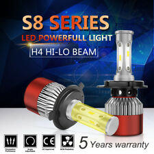 PAIR H4 HB2 9003 LED 880W 110000LM Headlight Beam Bulbs 6000K White High Power