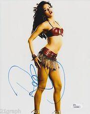 Rose McGowan Signed 8x10 Photo w/ JSA COA #L41803 + Proof Grindhouse Scream
