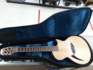 ESP LTD TL-6N Thinline Natural Acoustic-Electric Guitar TL6N