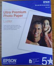 S041405 Luster Ultra-Premium Photo Paper, 8-1/2 X 11, 50 Sheets Per Pack $39