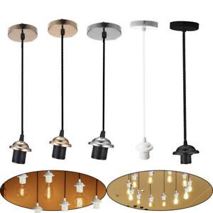 Lampen Fassung E27 Vintage Lampensockel Metall Nostalgie Retro Leuchtmittel