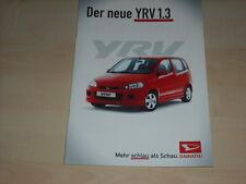51591) Daihatsu YRV Prospekt 01/2001
