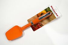 KITCHEN AID Orange SPOON SPATULA Silicone Cooking Utensils Tangerine NEW