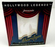 New 1992 Hollywood Legends Marilyn Monroe 4 Hologram Picture Set Sealed