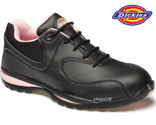 "LADIES DICKIES STEEL TOE CAP LIGHTWEIGHT SAFETY SHOES WORK TRAINERS BOOTS ""OHIO"""