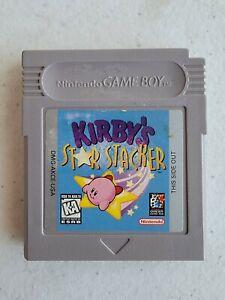 Kirby's Star Stacker (Nintendo Game Boy, 1997)