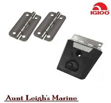 IGLOO COOLER STAINLESS HINGES AND LATCH 76891 X2 76881 X2 50QT TO 165QT PARTS