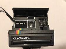 Polaroid Rainbow One Step 600 Land Camera Instamatic Black