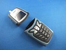 Original Nokia 5210 Outdoor komplett Cover A Oberschale m Tastatur Blau Blue NEU