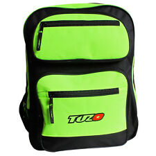 "Tuzo Fluo Yellow Motorbike Rider Rucksack Backpack Size 19""(H) x 11""(W) x 11""(D)"