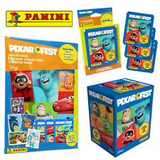 More details for panini | pixar fest | sticker & card collection | choose starter packs, multiset