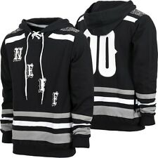 New Neff Mens World Champs Pull Over Hoodie Large Black