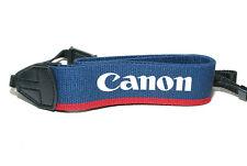 Canon Taiwan EOS Kameragurt / Tragegurt / 38mm breit blau neck strap (sehr gut)
