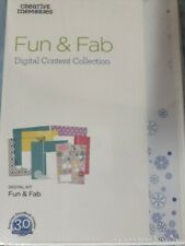 Creative Memories New Cd Software Fun & Fab Digital Content Collection